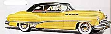 1950 Buick Roadmaster car