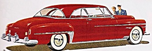 1950 Chrysler Newport car