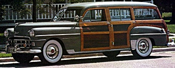 1950 Chrysler Town & Country Wagon