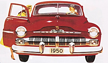 1950 Mercury car