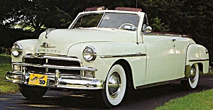 1950 Plymouth car