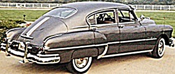 1950 Pontiac Chiefton car