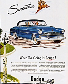 1950 Dodge automobile