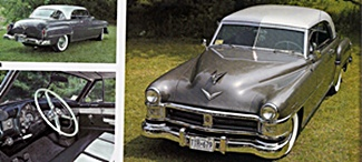 1952 Chrysler New Yorker car