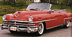 1953 Chrysler car