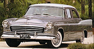 1956 Chrysler Windsor car