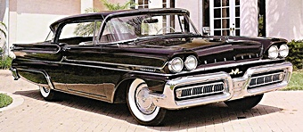 1958 Mercury Monterey car