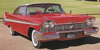 1958 plymouth car