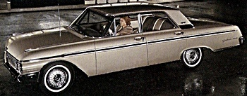 1962 Ford Galaxie car