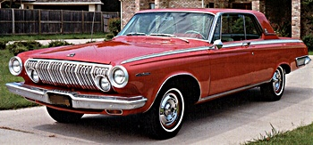 1963 Dodge Dart automobile