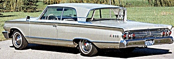 1963 mercury monterey automobile
