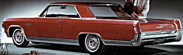 1963 Olds 98 automobile