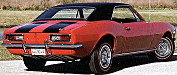 1967 Chevrolet Camaro Z-28 car