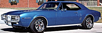 1967 firebird car