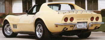 1968 Corvette car