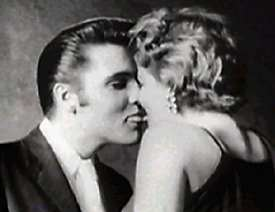 Elvis kissing