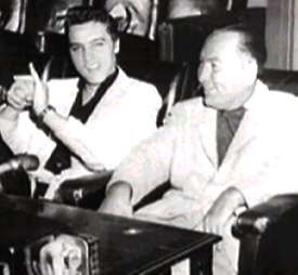Elvis with Hal Wallis