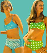 926bb446a19d1 1960s Swimsuits - from mild to wild