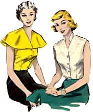 Fifties blouses