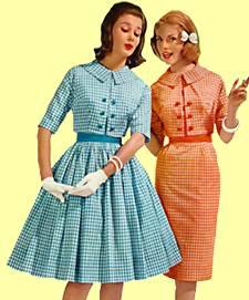 Fashion Dresses on 1960s Fashions   Women S Retro Clothes   Dresses