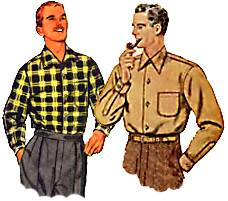 Fifties shirts