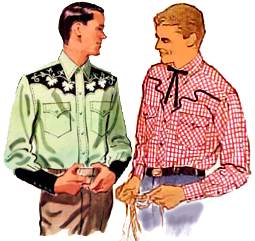 Fifties mens shirts