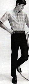 1960s sportshirt & slacks