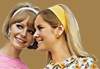 1960s fashion - hair ribbons