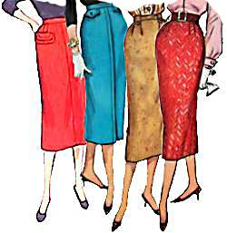 Fifties skirts