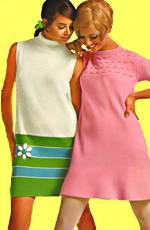 Teens in 60 s fashions