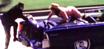 Photo Of Jackie Kennedy Getting Out Of Car