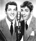 Jerry Lewis and Dean Martin