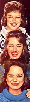 Lennon Sisters (Diane, Peggy, Kathy, ...